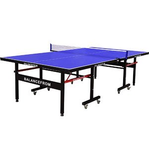 BalanceFrom Gopingpong 18mm Wood Surface Inside Table Tennis Table